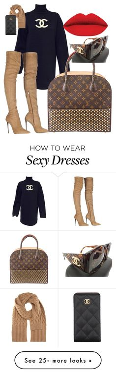 """All about the Sexy Boot....."" by kotnourka on Polyvore featuring Karl Lagerfeld, Roberto Cavalli, Louis Vuitton, Maison Margiela, Chanel, women's clothing, women's fashion, women, female and woman"