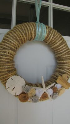 Adventures in DIY: Summer Wreath Re-Deux