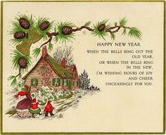 Vintage-New-Year-Card-OldDesignShop.jpg 1,666×1,357 pixels