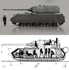 """Panzer VIII """"Maus"""" The massive German tank nicknamed the """"Mouse"""" weighed in at… Mg34, Ship Drawing, Ww2 History, Battle Tank, World Of Tanks, Ww2 Tanks, Blender 3d, Military Weapons, Concept Cars"""