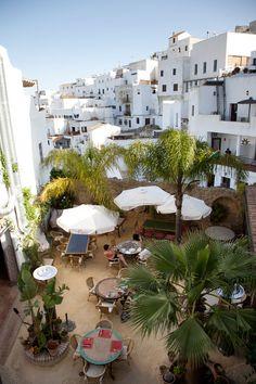 Restaurante Jardin del Califa : Vejer de la Frontera, Cádiz, España