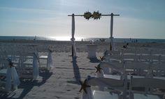 Beach wedding at Sandpearl - 3.23.12
