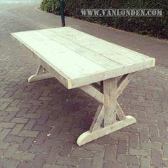 Klooster tafel van steigerhout