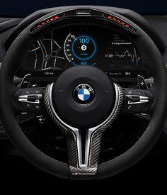BMW Car Dashboard Design by Denys Nevozhai, via Behance