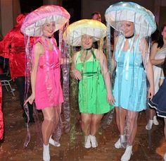 Qualle Kostüm Fasching