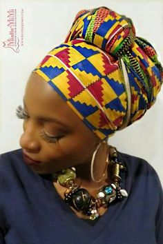 Wrap in African colors
