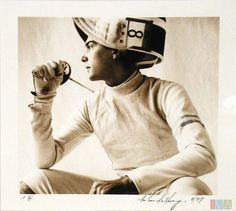 All time favorite fencing portraiture... find fencing inspirations at Monica Hahn photography and FenceOgraphy