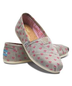 Toms Gray & Pink Valentine Classics