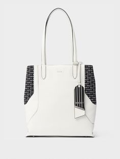JADE LEATHER LOGO TOTE Recommended by https   www.smart-changes. 4ba7912c2a1b8
