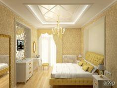 Квартира ул.Карабельная: интерьер, квартира, дом, спальня, гламур, 10 - 20 м2 #interiordesign #apartment #house #bedroom #dormitory #bedchamber #dorm #roost #glamour #10_20m2 arXip.com