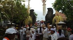 Uluwatu Temple is a Balinese sea temple in Uluwatu. The temple is regarded as one of the sad kahyangan and is dedicated to Sang Hyang Widhi Wasa in his manifestation as Rudra.