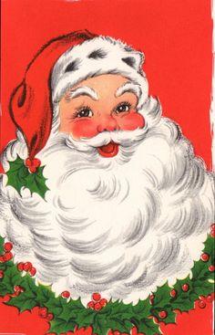 Santa Christmas Card ~   (AV 60)