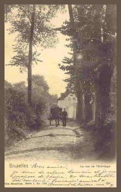 Mon amie, je serai de retour demain… Ixelles - Rue de l'Ermitage - 1902