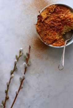 Apple kugel for Passover