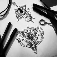 Ring Tattoos, Body Art Tattoos, Sleeve Tattoos, Tatoos, Badass Tattoos, Cool Tattoos, Elvish Tattoo, Skin Drawing, Drawing Art