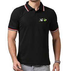 LMQ Stork Carrying a Newborn Baby Polo Shirts For Men Summer Casual Short Sleeve Sports Pullover *** Check this awesome product by going to the link at the image. (This is an affiliate link) #PoloTShirt
