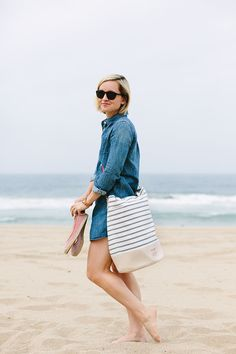 Summer Beach Style : The Effortless Chic