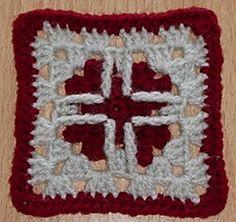 Heart Stricken Square ~ free pattern