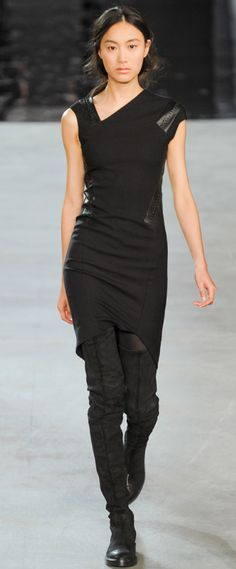 Helmut Lang...love this look.