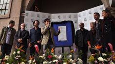 Gael García le dice 'No' a la dictadura de Pinochet en el FIC de Morelia