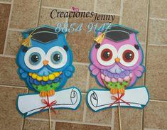 b 250 hos graduaci 243 n creaciones costa rica Foam Crafts, Preschool Crafts, Diy And Crafts, Crafts For Kids, Paper Crafts, Folder Decorado, Owl Theme Classroom, Baby Bingo, Owl Pictures