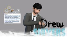 The Sims 4 Blogger • drewshivers:  Custom CAS Trait: Lawyer  Did you...