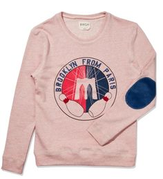 BWGH Red Brooklyn Sweater