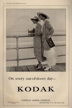 Vintage Photography/ Camera Ads of the 1910s