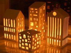 Urbania lyshus fra Kähler Design - Køb dine smukke lyshuse hos Stilia.dk - hurtig og sikker levering