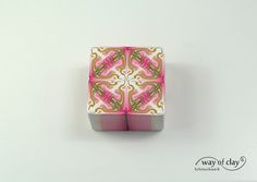 kaleidoscope cane by way of clay, via Flickr
