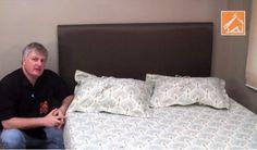 Como fazer uma cabeceira almofadada pra sua cama
