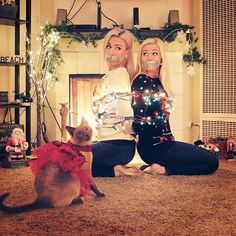 Family Christmas, Christmas Themes, Christmas Lights, Christmas Card Pictures, Funny Christmas Cards, Damsels In Peril, Love Captions, Girl Tied Up, All In The Family