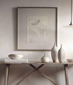 unitone vignette / white and off white / table scape / color inspiration / black and white / monochromatic / texture / pattern / nature / art /