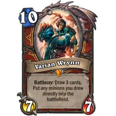 Oh the things this card could do! Never played it but had it kick my ass a couple times unfortunately. Thoughts and opinions on this card? Want to see a legendary card posted with my thoughts on it then comment below! #hearthstone #blizzard #twitch #blizzard2016 #blizzardgames by daily.hearthstone