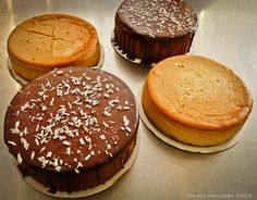 The Hot Chocolatier, Pumpkin Cheesecakes and Peppermint Mousse Cakes Chocolate Pastry, Mousse Cake, Pumpkin Cheesecake, Holiday Treats, Cheesecakes, Peppermint, Sweets, Foods, Hot