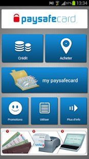PaySafeCard - http://www.android-logiciels.fr/paysafecard/