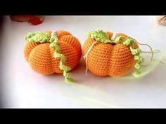Calabazas en crochet (malloo) - YouTube