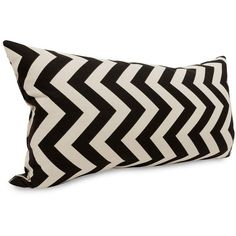 Dot & Bo Hopscotch Pillow - Small (34 CAD) ❤ liked on Polyvore featuring home, home decor, throw pillows, chevron home decor and chevron throw pillows