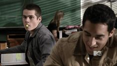 Harris- Mr. Stilinski try putting the highlighter down between paragraphs it's chemistry not a coloring book. Stiles- *rolls eyes and spits highlighter cap out of mouth