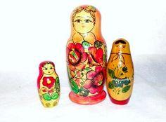 Matrjošky - Bábušky | Aukro Old Toys, Vintage Toys, Retro, Old Fashioned Toys, Retro Illustration, Old School Toys