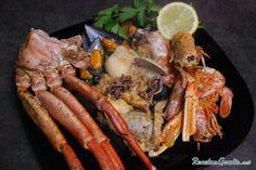 Zarzuela de mariscos My Favorite Food, Favorite Recipes, Le Chef, Pot Roast, Chicken Wings, Seafood, Fish, Ethnic Recipes, Beverages