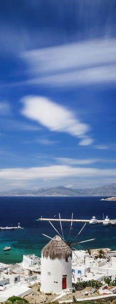Mykonos, Greece I've been there! Places Around The World, Travel Around The World, Around The Worlds, Mykonos Island, Santorini Greece, Paros, Wonderful Places, Beautiful Places, Places To Travel