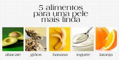 TOP 5 alimentos para uma pele po-de-ro-sa! http://abr.ai/1b3Fynb