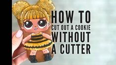 ‍♀️How to cut out a cookie without a cutter? #talecookies_secrets. ♥️Save this video to your favorites so you can watch it anytime!♥️. .…