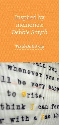 Debbie Smyth: Inspired by memories