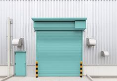 The security roller shutters are available in different sizes and specifications. These days, the roller shutters are available with remote Security Shutters, Rolling Shutter, Roll Up Doors, Roller Shutters, Shutter Doors, Door Gate, Facade House, Background For Photography, Abandoned