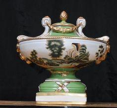 german tureen | German Dresden Porcelain Tureen Dish Urn Pot Pourri