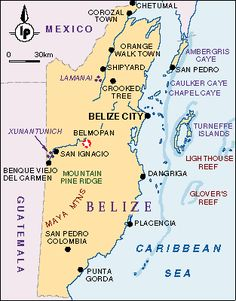 Area 22,963 sq km (8,866 sq. miles) slightly larger than Massachusetts. Capital: Belmopan (pop. 4,500)