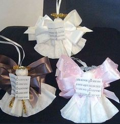 Deck the halls with these adorable coffee-filter angels–perfect as gift toppers, tree ornaments or gift to share with friends.