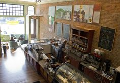 Coffee Shops in Pittsburgh--shown: delanies coffee pittsburgh